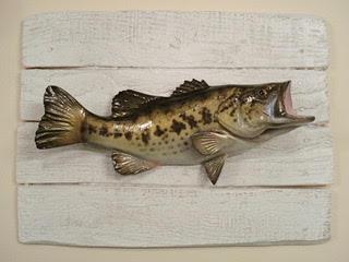 Cadre mural Black-Bass Cap Vert
