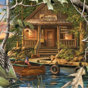 Puzzle Gone Fishing 1000 pièces Master Pieces