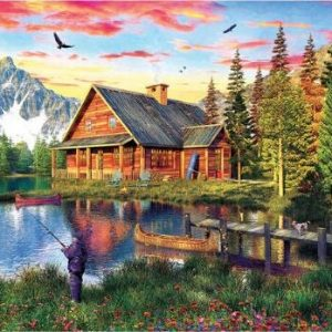 Puzzle The Fishing Cabin 1000 pièces Eurographics