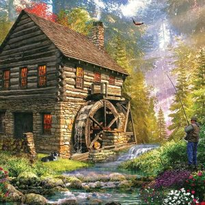 Puzzle Dominic Davison : Mill Cottage 2000 pièces KS-Games