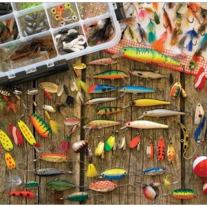 Puzzle Fishing Lures 500 pièces Cobble Hill