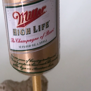 Bouchon en Forme de canette de bière Miller High Life