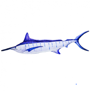Coussin Marlin Bleu GABY