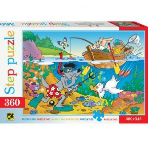 Puzzle Fishing 360 pièces Step Puzzle