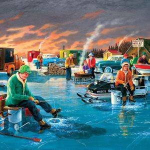 Puzzle Fishing Contest 550 pièces Sunsout