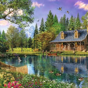 Puzzle Afternoon Idyll 4000 pièces Trefl