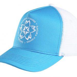 Casquette Trucker Sakura Bleu/Blanc